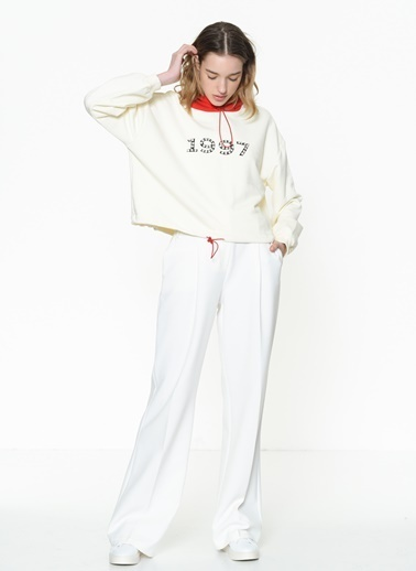 Twist Sweatshirt Ekru